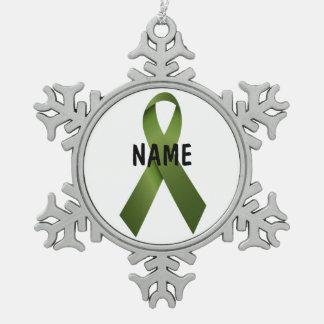 Ornement de mémorial de Cancer de rein