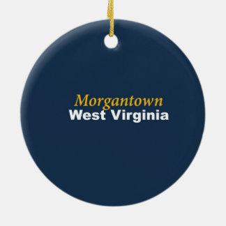 Ornement de Morgantown, la Virginie Occidentale