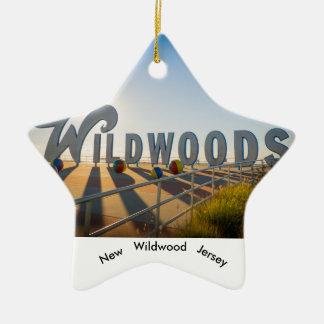 Ornement de New Jersey de Wildwood