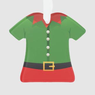 Ornement de Noël d'aide d'Elf Père Noël