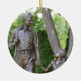 Ornement de Noël d'Andy Griffith