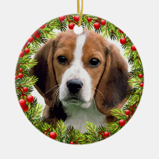 Ornement de Noël de beagle