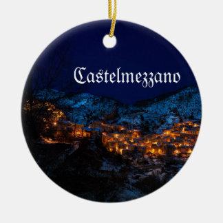 Ornement de Noël de Castelmezzano