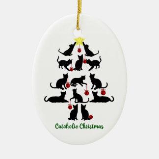 Ornement de Noël de Catoholic