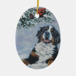 ornement de Noël de chien de montagne bernese