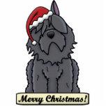 Ornement de Noël de DES Flandres de Bouvier de ban Ornement Photo Sculpture