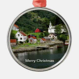 Ornement de Noël de fjord