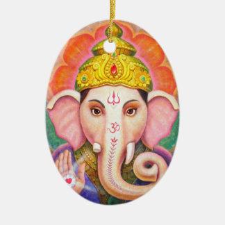 Ornement de Noël de Ganesha d'art de Bouddha