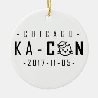 Ornement de Noël de Ka-Escroc