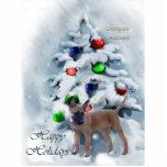 Ornement de Noël de Malinois de Belge Découpage En Acrylique