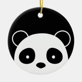 Ornement de Noël de panda, décorations de Noël