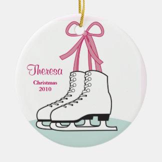 Ornement de Noël de patinage de glace