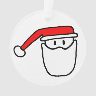Ornement de Noël de père de Père Noël d'arbre de