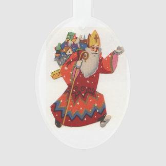 Ornement de Noël de Saint-Nicolas