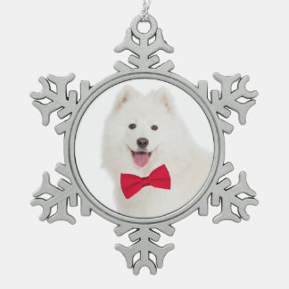 Ornement de Noël de Samoyed