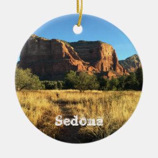 Ornement de Noël de Sedona Arizona