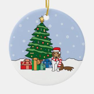 Ornement de Noël de Sheltie