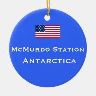 Ornement de Noël de station de McMurdo