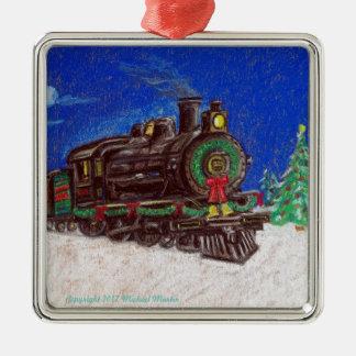 Ornement de Noël de train