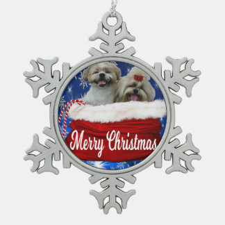 Ornement de Noël de tzu de Shih