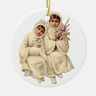 Ornement de Noël de Victoriana (vous pouvez