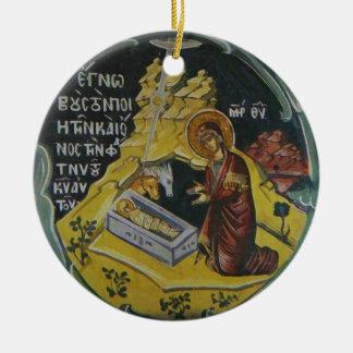Ornement de Noël d'icône de nativité