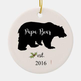 ornement de Noël d'ours de papa, ornement de papa