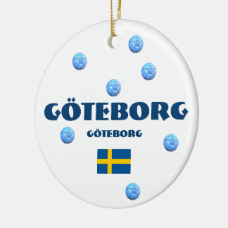 Ornement de Noël du football de Göteborg
