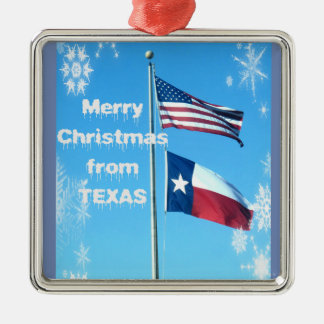 Ornement de Noël du Texas