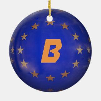 Ornement de Noël d'UE de la Belgique