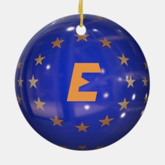 Ornement de Noël d'Union européenne de l'Espagne
