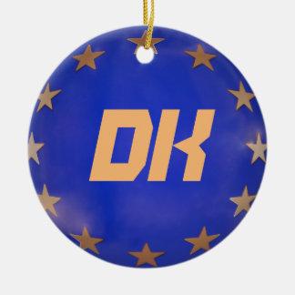 Ornement de Noël d'Union européenne du Danemark