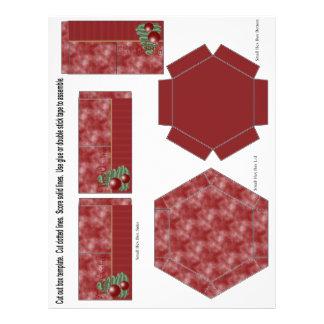 Ornement de Noël Prospectus 21,6 Cm X 24,94 Cm