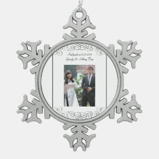Ornement de nouveaux mariés
