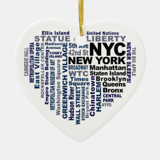 Ornement de NYC - personnalisable
