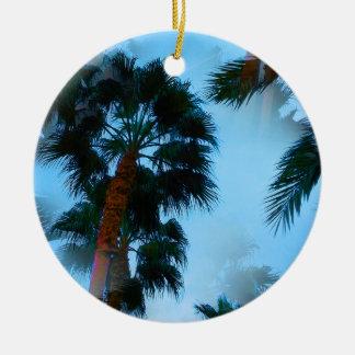Ornement de palmiers