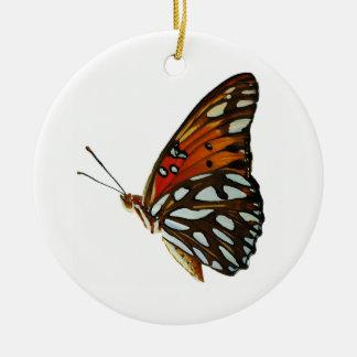 Ornement de papillon de fritillaire de Golfe