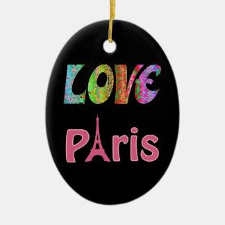 Ornement de Paris d'amour