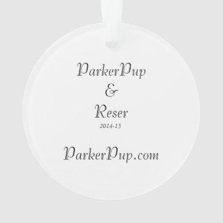 Ornement de ParkerPup 2014-15 et de Reser