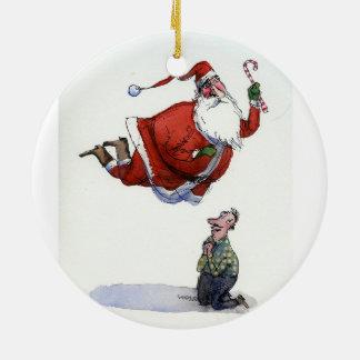 Ornement de Père Noël de saint par Richard