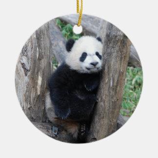 Ornement de petit animal de panda géant de Bei Bei