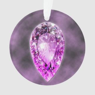 Ornement de pierre gemme d'améthyste
