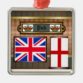 Ornement de Pub de Londres de décoration de