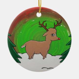 Ornement de renne de Rudolph