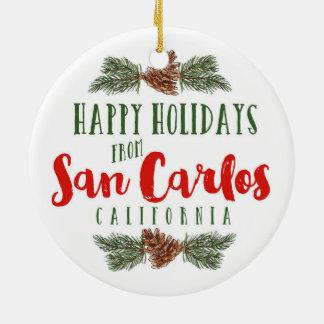Ornement de São Carlos la Californie -