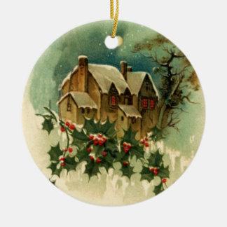 Ornement de scène de Noël