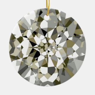Ornement de scintillement de diamant