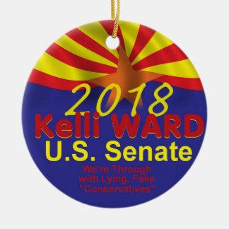 Ornement de sénat de Kelli WARD2018