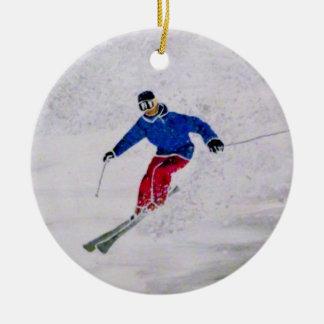 Ornement de ski