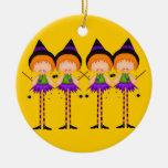 Ornement de sorcières de Halloween
